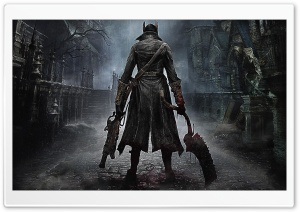 Bloodborne 2015 HD Wide Wallpaper for 4K UHD Widescreen desktop & smartphone