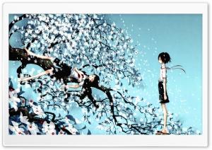 Blowing Wind Illustration HD Wide Wallpaper for 4K UHD Widescreen desktop & smartphone