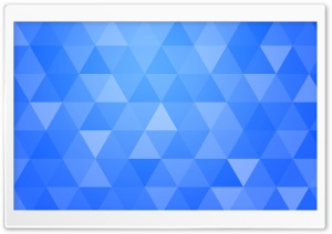Blue Abstract Geometric Triangle Background HD Wide Wallpaper for 4K UHD Widescreen desktop & smartphone