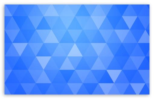 Blue Abstract Geometric Triangle Background 4k Hd Desktop