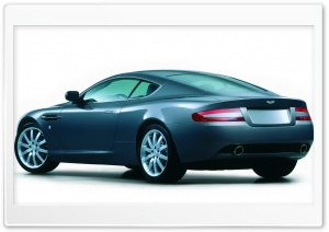 Blue Aston Maritn DB9 HD Wide Wallpaper for Widescreen