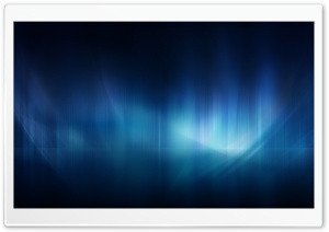 Blue Aurora HD Wide Wallpaper for Widescreen