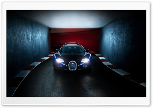 Blue Bugatti Veyron HD Wide Wallpaper for Widescreen