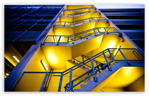 Blue Building, Yellow Stairs UltraHD Wallpaper for Wide 16:10 5:3 Widescreen WHXGA WQXGA WUXGA WXGA WGA ; 8K UHD TV 16:9 Ultra High Definition 2160p 1440p 1080p 900p 720p ; UHD 16:9 2160p 1440p 1080p 900p 720p ; Standard 4:3 5:4 3:2 Fullscreen UXGA XGA SVGA QSXGA SXGA DVGA HVGA HQVGA ( Apple PowerBook G4 iPhone 4 3G 3GS iPod Touch ) ; iPad 1/2/Mini ; Mobile 4:3 5:3 3:2 16:9 5:4 - UXGA XGA SVGA WGA DVGA HVGA HQVGA ( Apple PowerBook G4 iPhone 4 3G 3GS iPod Touch ) 2160p 1440p 1080p 900p 720p QSXGA SXGA ; Dual 16:10 5:3 16:9 4:3 5:4 WHXGA WQXGA WUXGA WXGA WGA 2160p 1440p 1080p 900p 720p UXGA XGA SVGA QSXGA SXGA ;