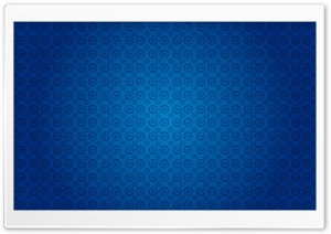 Blue Circles Pattern HD Wide Wallpaper for Widescreen