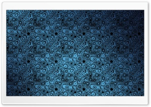 Blue Circles Texture HD Wide Wallpaper for Widescreen