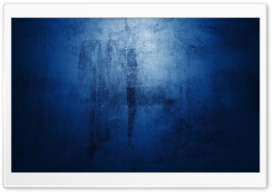 Blue Concrete Wall HD Wide Wallpaper for Widescreen