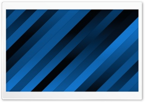 Blue Diagonal Stripes HD Wide Wallpaper for Widescreen