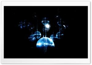 Blue Disco Ball HD Wide Wallpaper for 4K UHD Widescreen desktop & smartphone