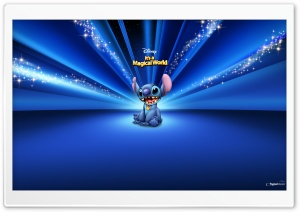 Blue Disney HD Wide Wallpaper for Widescreen