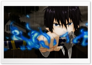 Blue Exorcist   Rin Okumura HD Wide Wallpaper for 4K UHD Widescreen desktop & smartphone