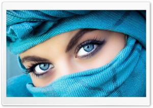 Blue eyes...blue eyes... HD Wide Wallpaper for Widescreen