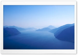 Blue Fjord HD Wide Wallpaper for Widescreen