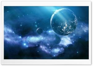Blue Galaxy Ultra HD Wallpaper for 4K UHD Widescreen desktop, tablet & smartphone