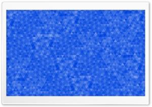 Blue Geometric Triangles Pattern Background Ultra HD Wallpaper for 4K UHD Widescreen desktop, tablet & smartphone