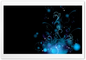 Blue Graphic Design HD Wide Wallpaper for Widescreen
