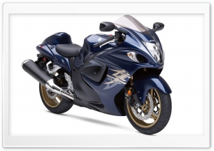 Blue Hayabusa Suzuki HD Wide Wallpaper for Widescreen