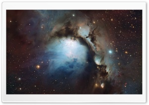 Blue Hole Nebula HD Wide Wallpaper for Widescreen