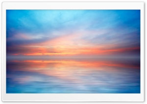 Blue Horizon HD Wide Wallpaper for Widescreen