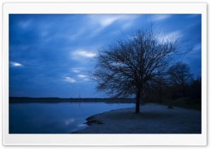 Blue Hour HD Wide Wallpaper for Widescreen
