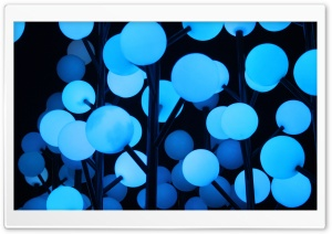 Blue Lights HD Wide Wallpaper for Widescreen