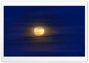 Blue Moon, New Year's Eve HD Wide Wallpaper for Widescreen