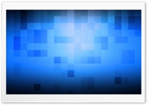Blue Pixel HD Wide Wallpaper for Widescreen