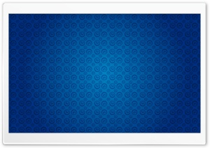 Blue Retro Pattern HD Wide Wallpaper for Widescreen