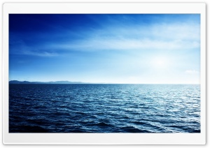 Blue Sea HD Wide Wallpaper for Widescreen
