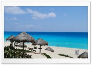 Blue Sea Cancun Ultra HD Wallpaper for 4K UHD Widescreen desktop, tablet & smartphone