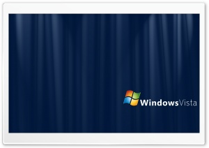 Blue Silk Windows Vista HD Wide Wallpaper for Widescreen
