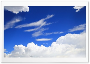Blue Sky HD Wide Wallpaper for Widescreen