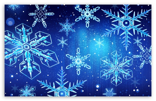 Blue Snowflakes New Year UltraHD Wallpaper for Wide 16:10 5:3 Widescreen WHXGA WQXGA WUXGA WXGA WGA ; 8K UHD TV 16:9 Ultra High Definition 2160p 1440p 1080p 900p 720p ; Standard 3:2 Fullscreen DVGA HVGA HQVGA ( Apple PowerBook G4 iPhone 4 3G 3GS iPod Touch ) ; Mobile 5:3 3:2 16:9 - WGA DVGA HVGA HQVGA ( Apple PowerBook G4 iPhone 4 3G 3GS iPod Touch ) 2160p 1440p 1080p 900p 720p ;