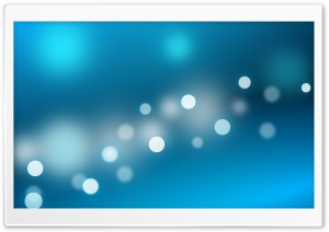 Blue Sparkles HD Wide Wallpaper for Widescreen