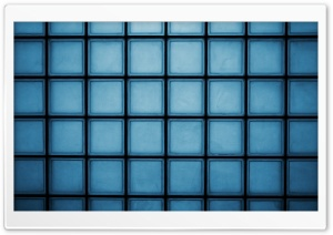 Blue Squares HD Wide Wallpaper for Widescreen