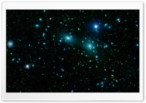 Blue Stars In Space HD Wide Wallpaper for Widescreen