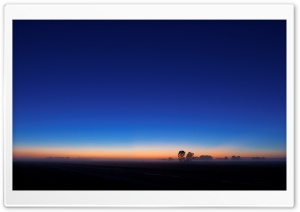 Blue Sunset HD Wide Wallpaper for Widescreen