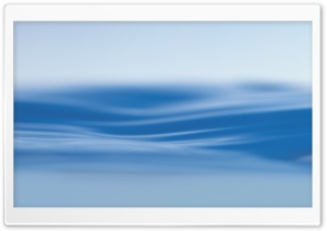 Blue Water Surface HD Wide Wallpaper for Widescreen
