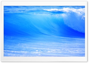 Blue Wave HD Wide Wallpaper for 4K UHD Widescreen desktop & smartphone