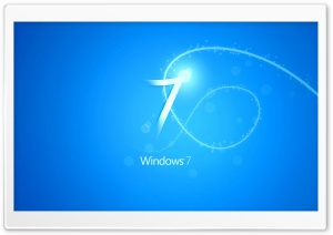 Blue Windows 7 Background HD Wide Wallpaper for Widescreen
