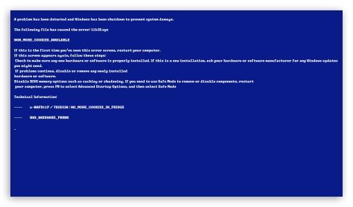Bluescreen of Death ❤ 4K UHD Wallpaper for 4K UHD 16:9 Ultra High Definition 2160p 1440p 1080p 900p 720p ; UHD 16:9 2160p 1440p 1080p 900p 720p ; Mobile 16:9 - 2160p 1440p 1080p 900p 720p ; Dual 16:10 5:3 16:9 4:3 5:4 WHXGA WQXGA WUXGA WXGA WGA 2160p 1440p 1080p 900p 720p UXGA XGA SVGA QSXGA SXGA ;