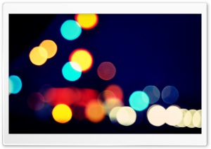 Blurred Vision HD Wide Wallpaper for Widescreen