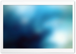 Blurry Blue Background HD Wide Wallpaper for Widescreen