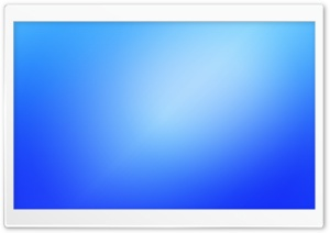 Blurry Blue Background I HD Wide Wallpaper for Widescreen