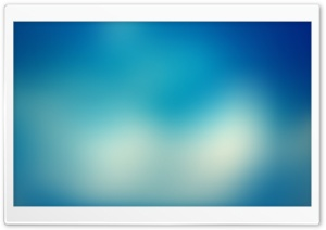 Blurry Blue Background III HD Wide Wallpaper for Widescreen