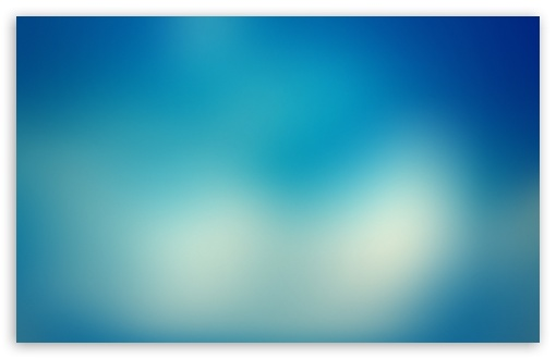 Blurry Blue Background III 4K HD Desktop Wallpaper For 4K