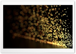 Blurry Sparks HD Wide Wallpaper for Widescreen