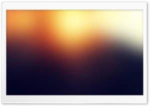 Blurry Sunset Ultra HD Wallpaper for 4K UHD Widescreen desktop, tablet & smartphone