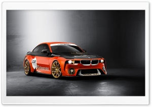 BMW 2002 Hommage Concept HD Wide Wallpaper for Widescreen