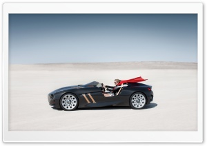 BMW 328 Hommage Car In The Desert HD Wide Wallpaper for 4K UHD Widescreen desktop & smartphone
